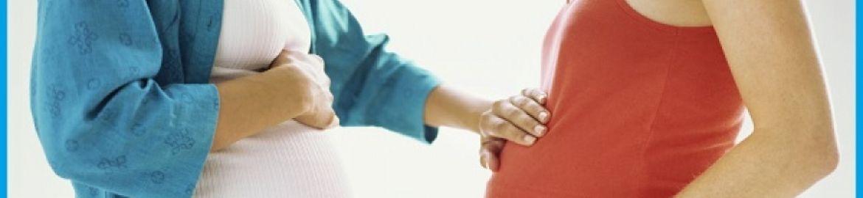 Gravidanza: pelle di seno e addome elastica