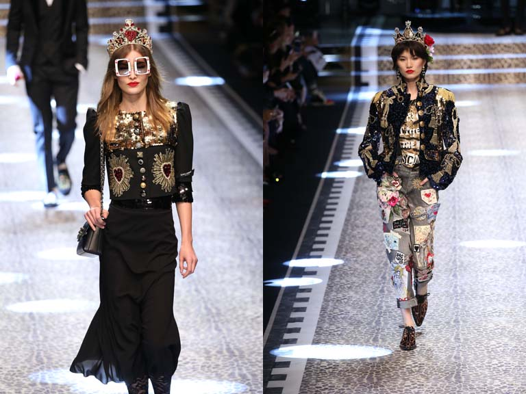 Dolce&Gabbana, I feel like a queen