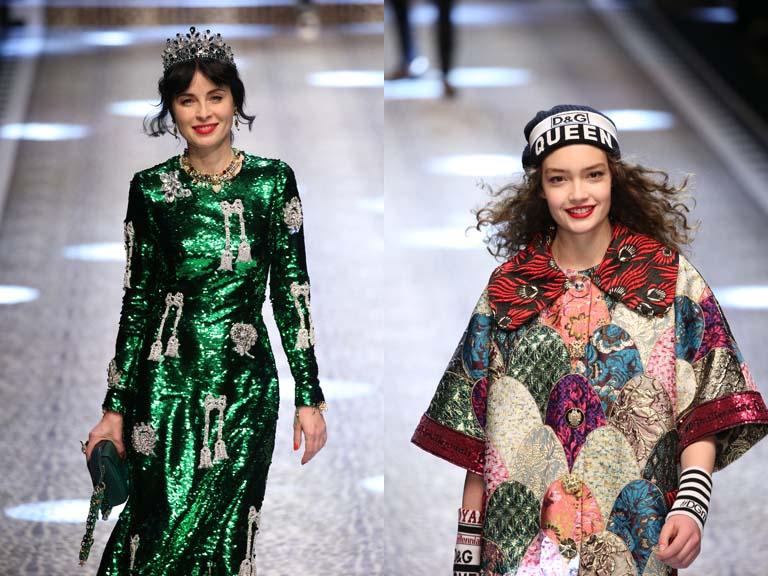 Dolce&Gabbana, I feel like a queen