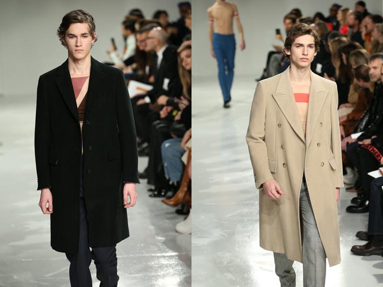 Il paletot di Calvin Klein