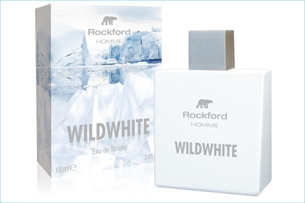 Rockford WILDWHITE la fragranza for men glaciale e seducente